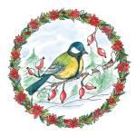 """""""Christmas birdie"""" by petrakern"""
