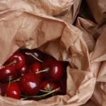 """""""Irish Market Organic Cherries"""" by royporat"""