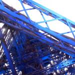 """Underside of the Eifffel Tower"" by rachelro"