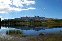 Molas Lake Reflection