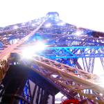 """Lights and Sparkles at the Eiffel Tower"" by rachelro"