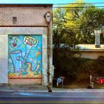 """San Antonio Graphiti Sleeping"" by TomZimmer"