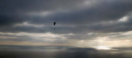 Sidmouth Paraglider