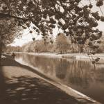 """Riverbank path by Rowntree Park"" by Yorkney"