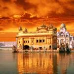 """Golden Temple Sunset"" by SikhPhotos"