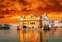 Golden Temple Sunset