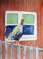 Rooster/Chicken Art - Show Off