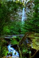 waterfall hdr