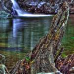 """shan creek swimming hole HDR"" by wofawarrior"