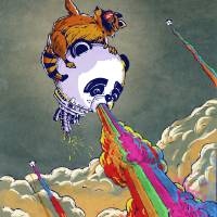 """Rainbow Vomiting Pandas: The Escape"" by poprelics"