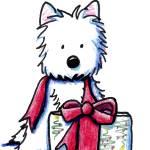 """Westie Gift"" by KiniArt"