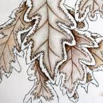 """frosted leaves"" by artista"