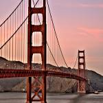 """Golden Gate at Dusk"" by NjordPhotography"