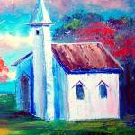 """Old Country Church"" by mazz"