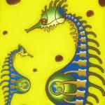 """""""Seahorse couple no.1"""" by artopode"""