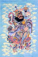 Bearded Chinese God
