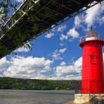 """Jeffreys Hook ""Little Red Lighthouse,"" New York Ci"" by nelights"