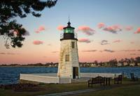 Newport Harbor Light, Rhode Island (443_4345adj)