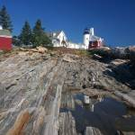 """Pemaquid Point Lighthouse, Maine"" by nelights"