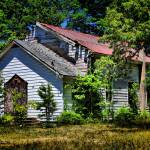 """""""Abandoned Country Church"""" by AngelMortonPhotography"""