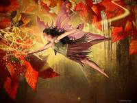Magical Autumn Fairy