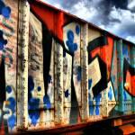 """Graffiti Train Car"" by AngelMortonPhotography"