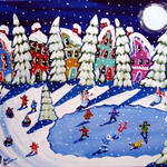 """Tribute to Vince Guaraldi: Winter Wonderland"" by reniebritenbucher"