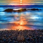 """Painted sunrise"" by alecrain"