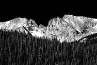 Continental Divide - Indian Peaks - Infrared