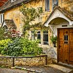 """A Street Corner in Painswick"" by barbarayoungleson"
