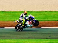 The mighty Valentino rossi
