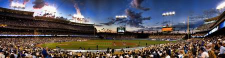 Dodger Stadium Panoramic