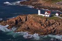 Aerial view of Cape Neddick