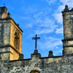 """Cross on Mission Concepcion"" by TomZimmer"