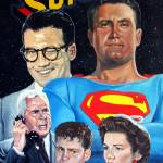"""supermanpainting a071"" by Tejaartist"