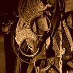 """Pack Horse Tack"" by woodywooden"