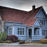 """Blue House"" by grangerphotography"
