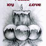 """Graphite Joy Candle"" by JPeele"