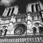 """Notre Dame B&W"" by hannahbraddock"