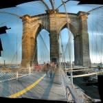 """Autostitch Brooklyn bridge"" by JohnKit"