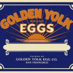 """goldenyolk"" by LABELSTONE"