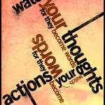 """Thoughts vs. Actions"" by mrbadger"