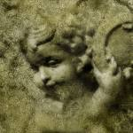 """Cherub in Granite"" by tinto"