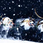 """Dashing Thru the Snow..."" by tomtrejon2209"
