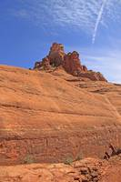 Red  Rock of Bell Rock in Sedona