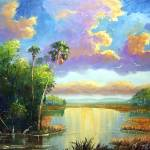 """Old Florida Splendor painting"" by mazz"