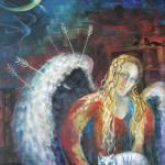 """ANGELS OF ZODIAC. SAGITTARIUS THE ARCHER CENTAUR"" by nesis"