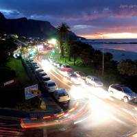 After sunset in Camps bay Art Prints & Posters by zukisa jam-jam
