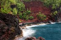 Red Sand Beach Cove, Hana, Maui