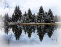 Winter Reflection by David Kocherhans